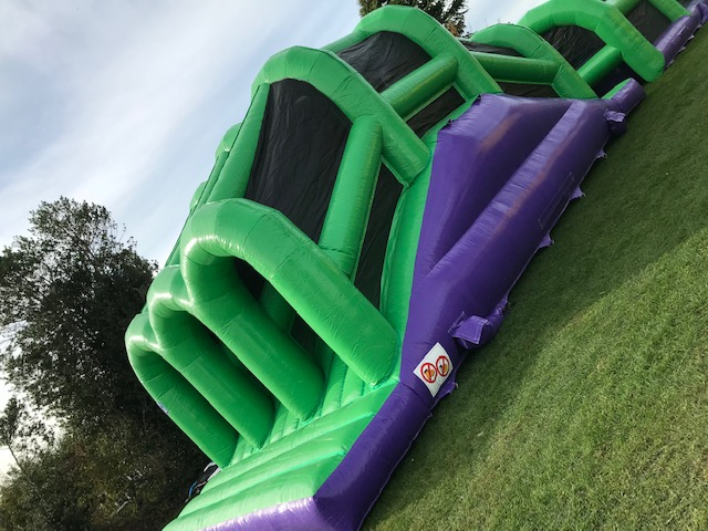 110ft Adults and Kids inflatable assault course