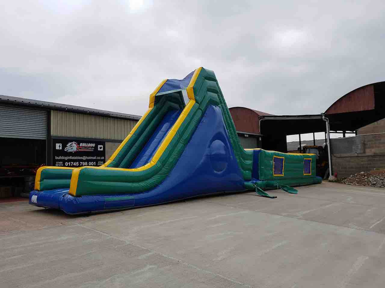 60FT-B 60ft Kids & Adults inflatable assault course