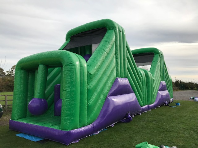 65ft Kids and Adults inflatable assault course