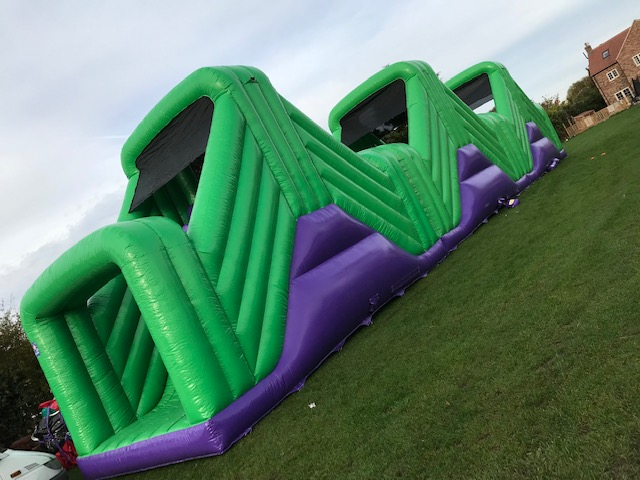 90ft B Kids and Adults Inflatable Assault Course