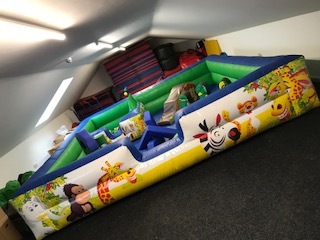 Soft play centre for toddlers