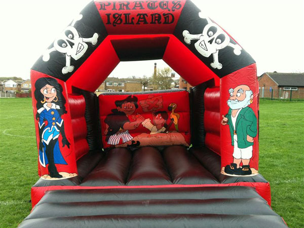 Pirate Themed Bouncy Castle (C) 12ft x 15ft x 11ft£65 Please quote castle number: 3