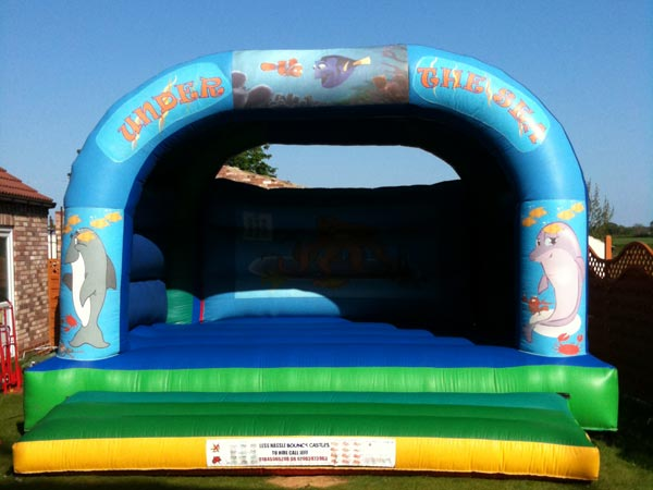 Under The Sea Themed Bouncy Castle (C) Children & Adults 18ft x 18ft x 14ft£90 Please quote castle number: 12