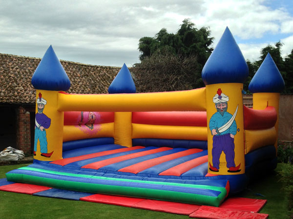 Giant Bouncy Castle Children & Adults 25ft x 25ft x 14ft£125 Please quote castle number: 50