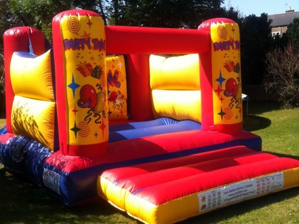 Party Time Bouncy Castle  12ft x 15ft x 9ft£65 Please quote castle number: 27