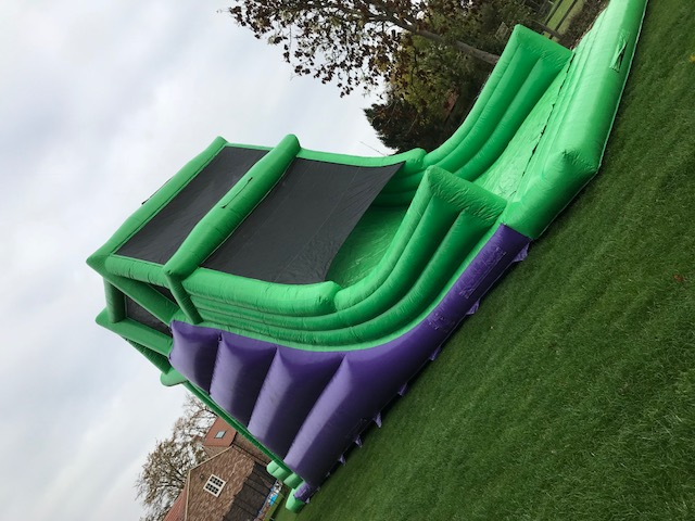 Giant vertical Drop Slide
