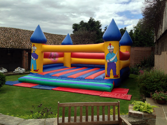 Giant bouncy castle