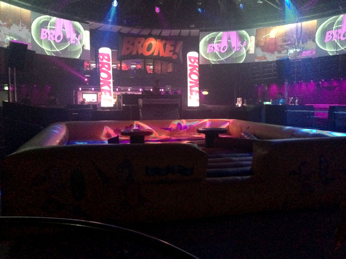 Inflatable games for events