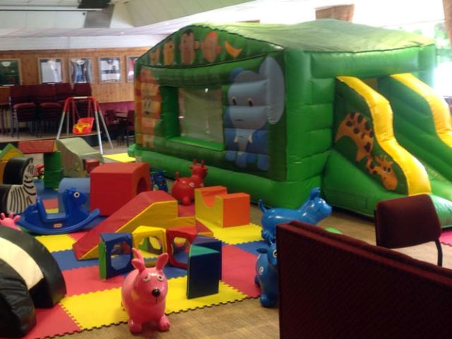 Soft play and castle