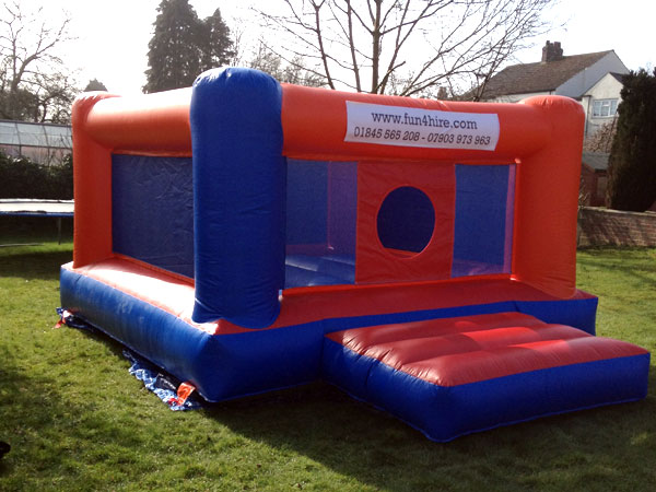 Inflatable Bouncy Boxing Ring & Gloves