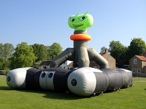 Inflatable Laser Quest Game