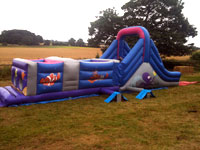 10ft x 35ft  sea themed obstacle course �100