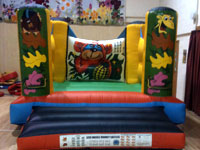 12ft x 15ft, 9ft tall jungle themed bouncy castle �60