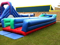11ft x 35ft inflatable bungee run �100