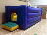 Combi bouncy castle with ball pool (17ft x 8ft) �55