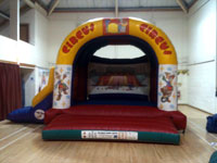 Combi bouncy castle and slide (15ft x 21ft) �70
