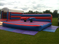 18ft x 16ft inflatable gladiator joust �100