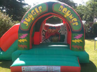 19ft x 15ft x 13ft Combi slide and bouncy castle �70