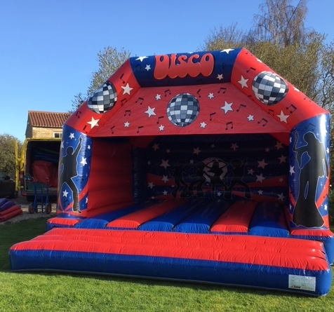 Music Themed Bouncy Castle (C) Children & Adults 19ft x 18ft x 13ft NO LIGHTS/SOUND£90 Please quote castle number: 12
