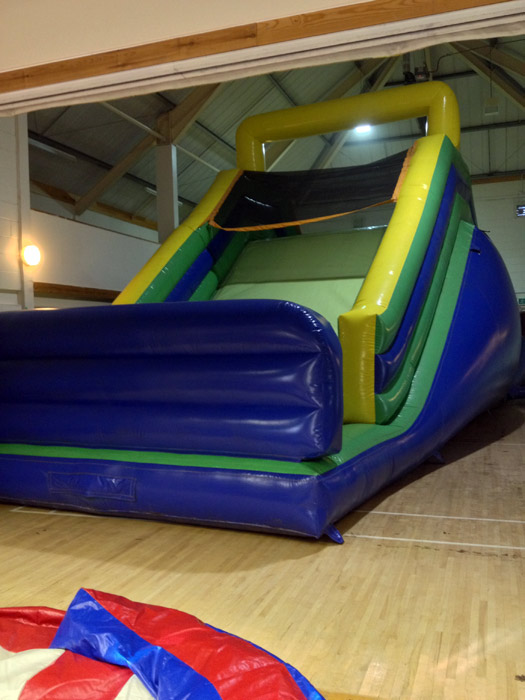 The end section big slide