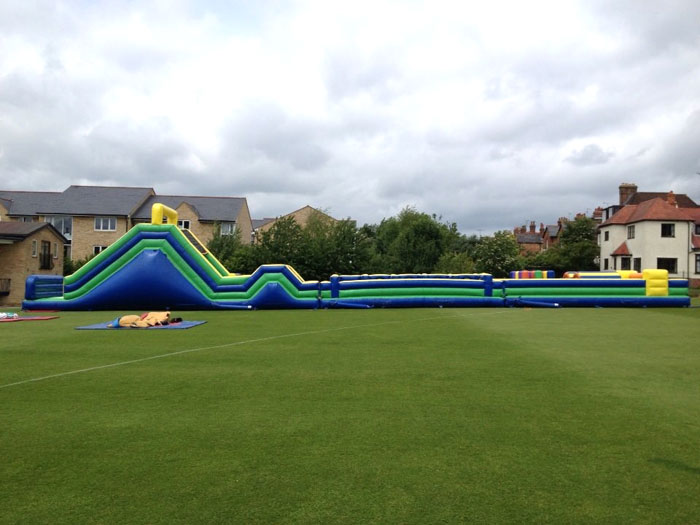 Giant Inflatable Assault Course Hire