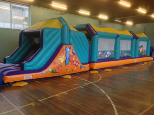 Party inflatable assault / obstacle course