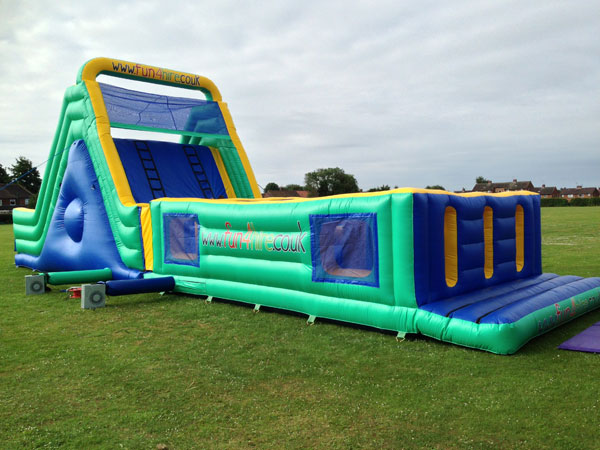60ft Kids & Adults Inflatable Assault Course