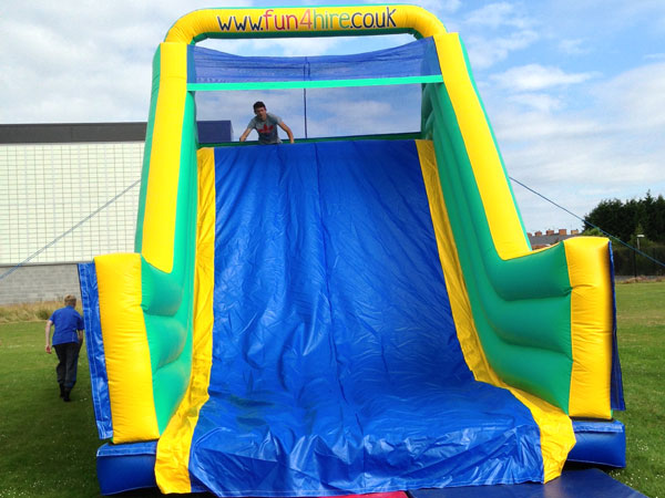 60ft adult and kids inflatable obstacle course