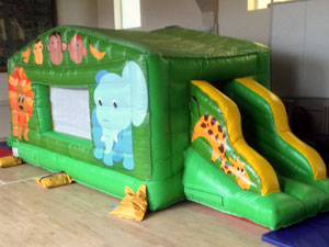 25ft Inflatable Toddler Fun Run Assault Course