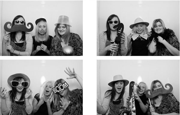 Photobooth photographs