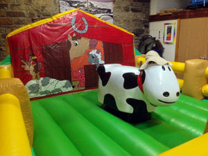 Deluxe Kid's Bucking Bronco - Daisy the cow
