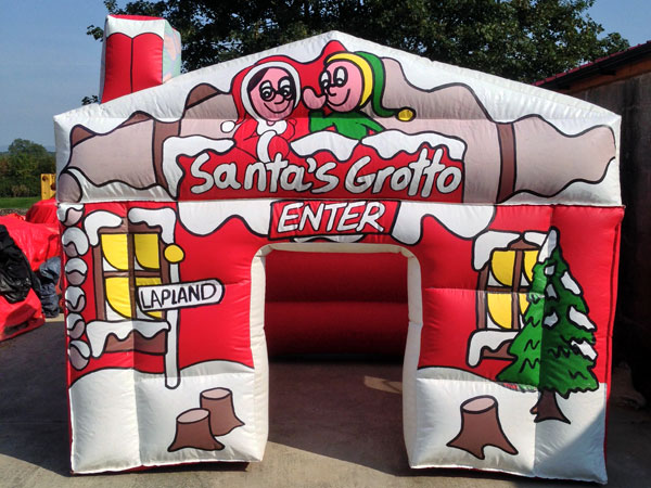 Inflatable santa s grotto