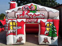 Inflatable Santas Grotto