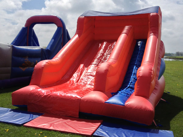 medium inflatable slide to hire