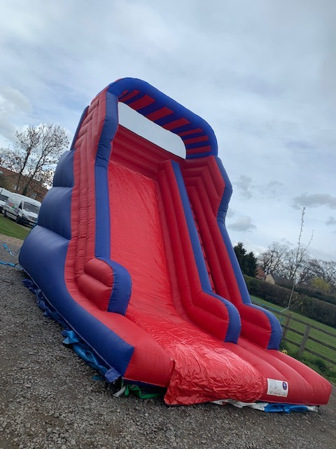 this is a phot of a medium inflatable slide