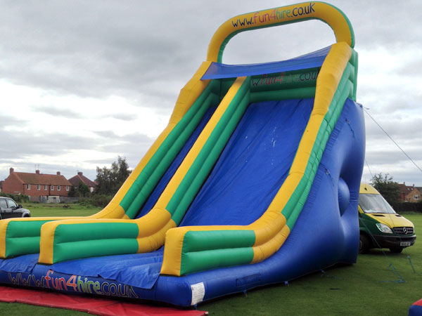 Blue Mega Inflatable Slide - 2 available