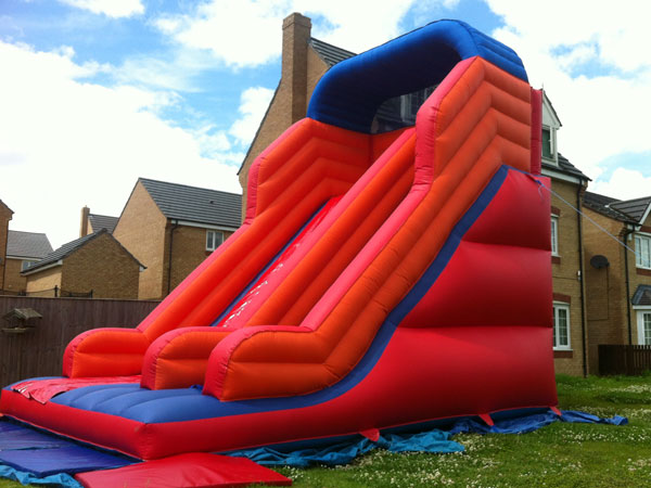 Red Mega Inflatable Slide