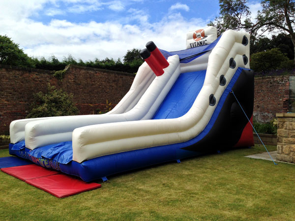 Titanic Themed Inflatable Slide