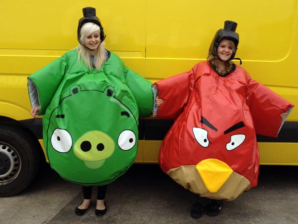 Angry Birds Sumo Suits