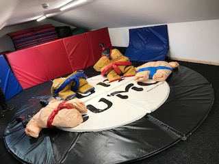Deluxe sumo suits KIDS & ADULTS�130 per day for the set