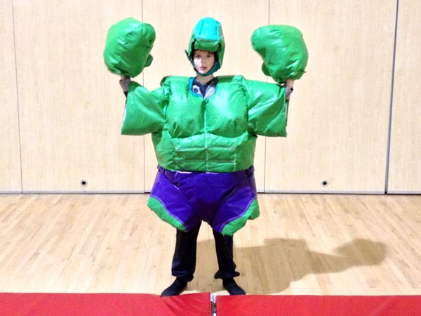 Super Hero Sumo suits KIDS - 3 available�50 per day (for 3)