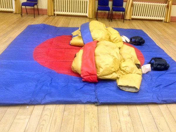 Standard sumo suits ADULTS  - 5 x pairs available�70 per day per pair